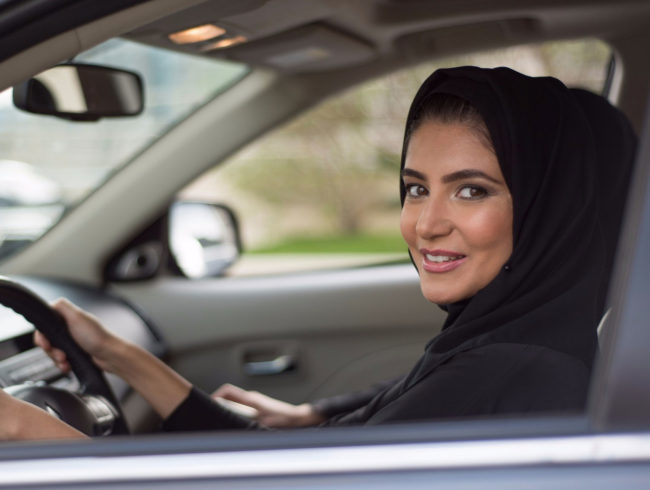 Saudi women in driver's seat as longstanding ban is lifted